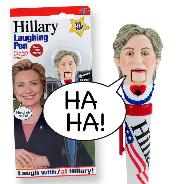 Hillary Clinton Laughing Pen