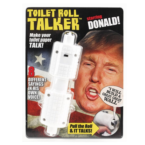 Donald Trump Toilet Roll Talker
