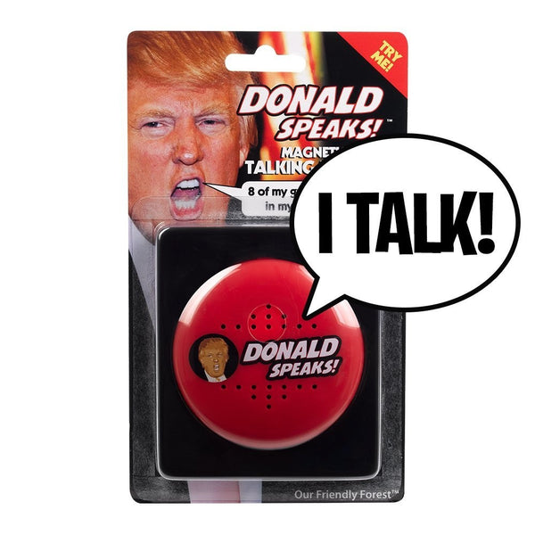 Donald Speaks Magnetic Talking Button