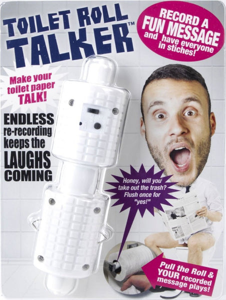 Recordable Toilet Roll Talker