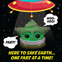 Cute Baby Alien - Poop Baby From Outer Space