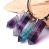 Natural Fluorite Point Necklace