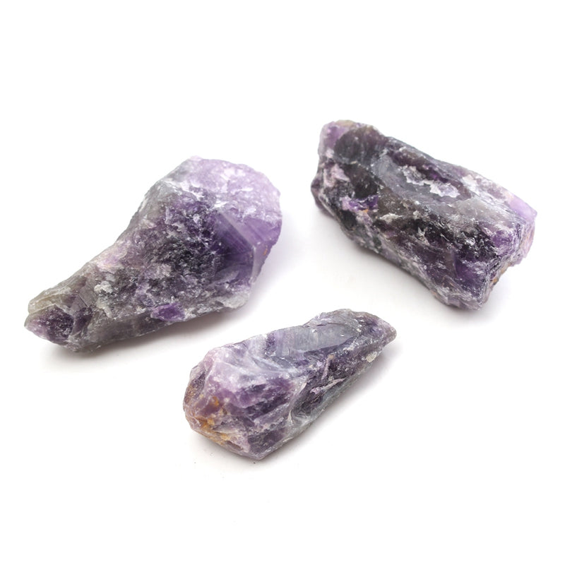 3.5 oz. Natural Rough Purple Amethyst Quartz Crystal