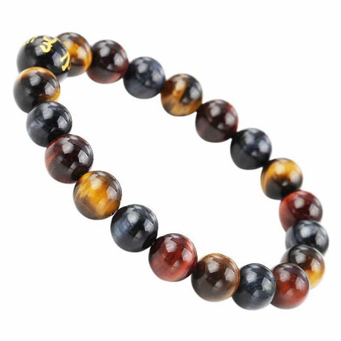 Tiger's Eye Healing Bead Bracelet