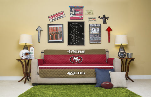 San Francisco 49ers Furniture Protectors with Elastic Straps