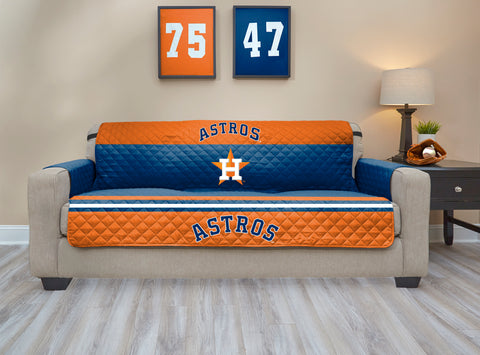 Houston Astros Furniture Protector with Elastic Straps