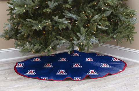 University of Arizona Christmas Tree Skirt