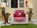 University of Alabama Furniture Protectors with Elastic Straps
