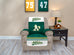 Oakland Athletics Furniture Protector with Elastic Straps