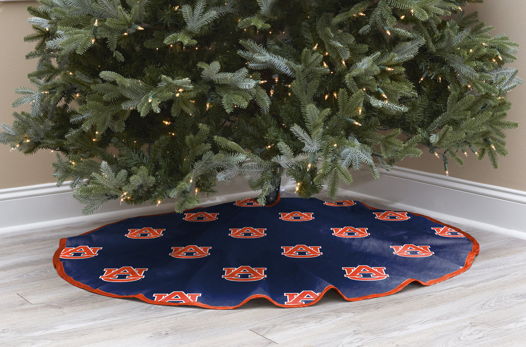 Auburn University Christmas Tree Skirt