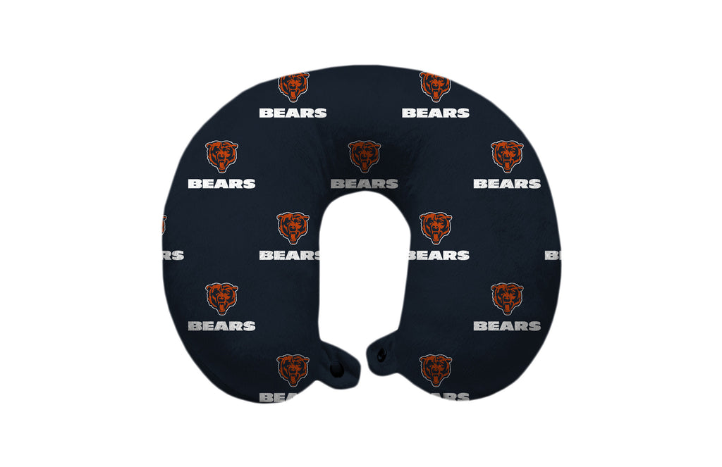 Chicago Bears Travel Pillow