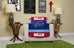 Buffalo Bills Furniture Protectors with Elastic Straps