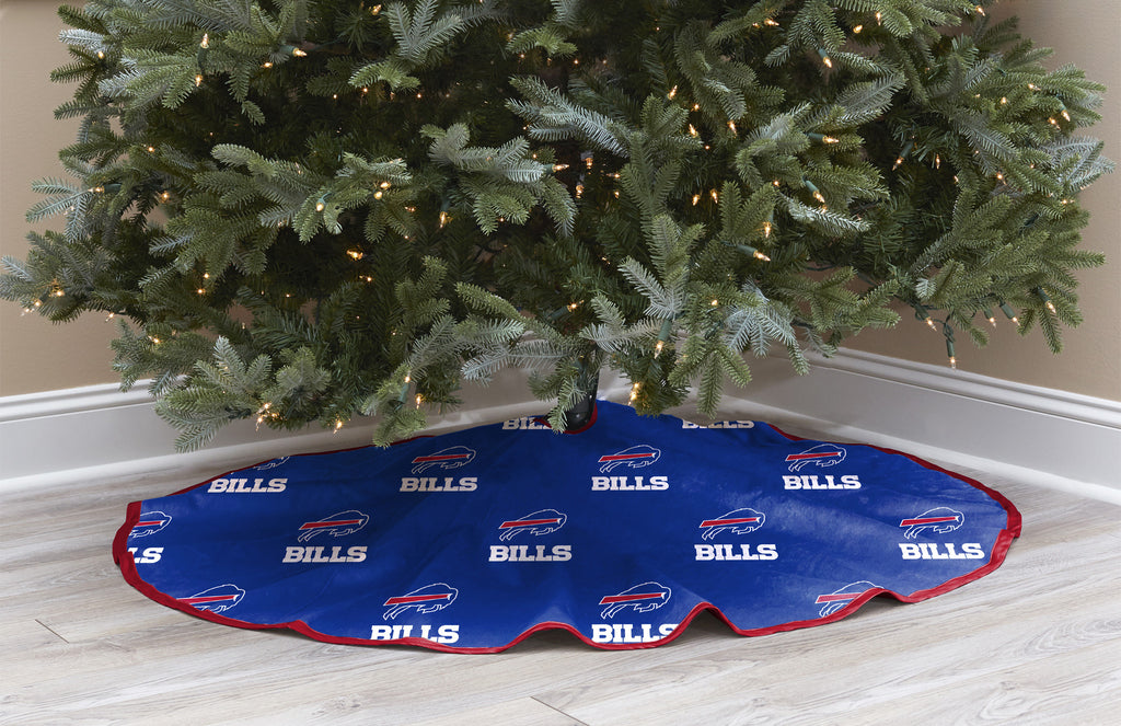 Buffalo Bills Christmas Tree Skirt