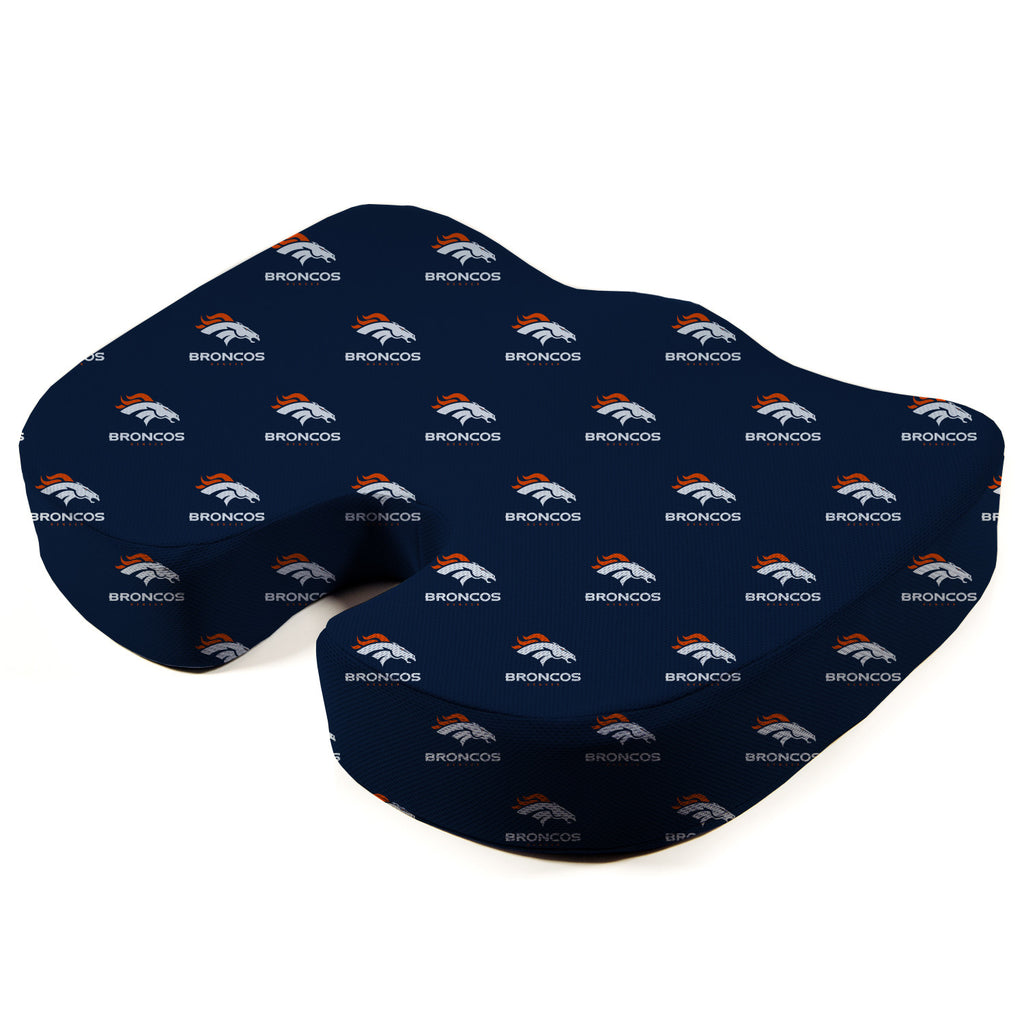 Denver Broncos Seat Solution Memory Foam Cushion