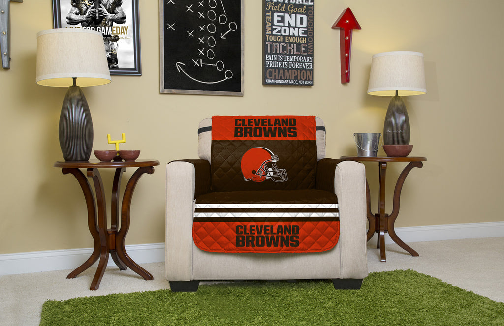 Cleveland Browns Furniture Protectors with Elastic Straps