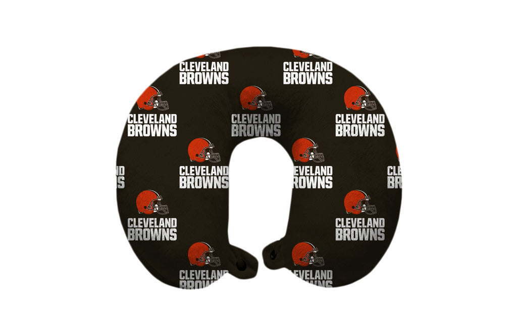 Cleveland Browns Travel Pillow