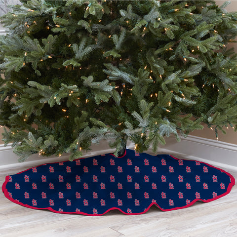 St. Louis Cardinals Christmas Tree Skirt