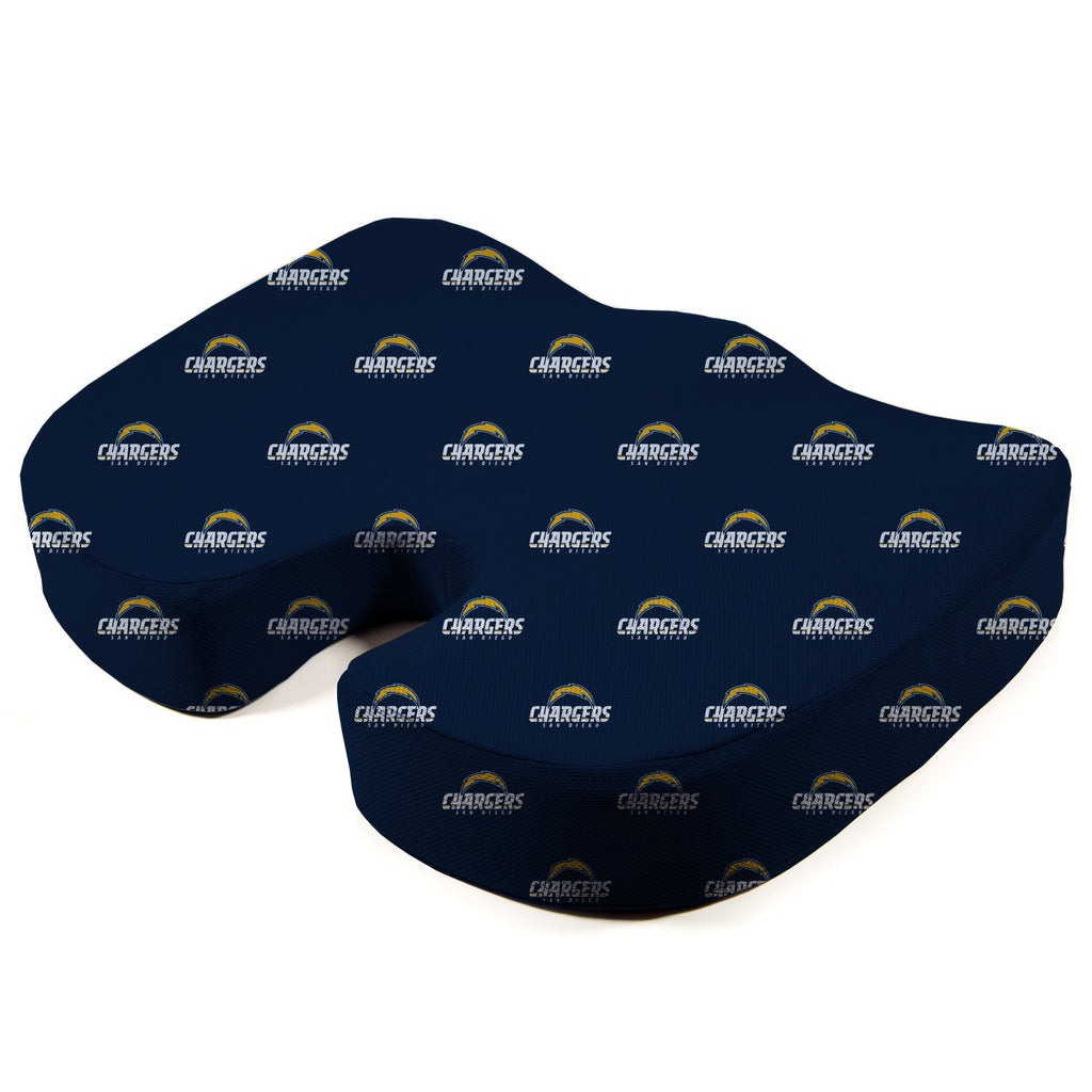Los Angeles Chargers Seat Solution Memory Foam Cushion