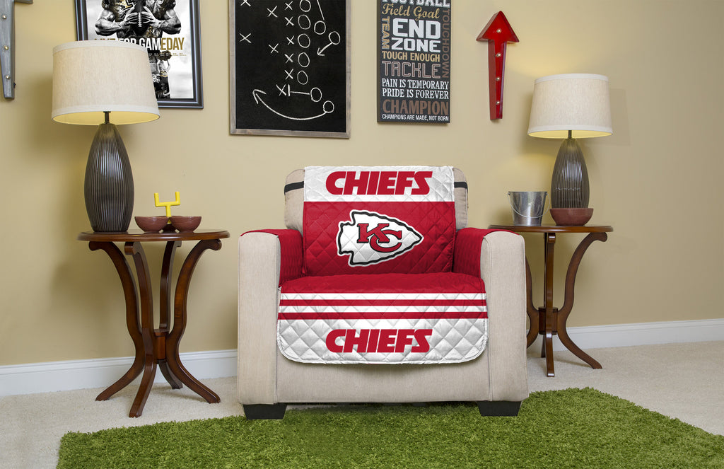 Kansas City Chiefs Furniture Protectors with Elastic Straps