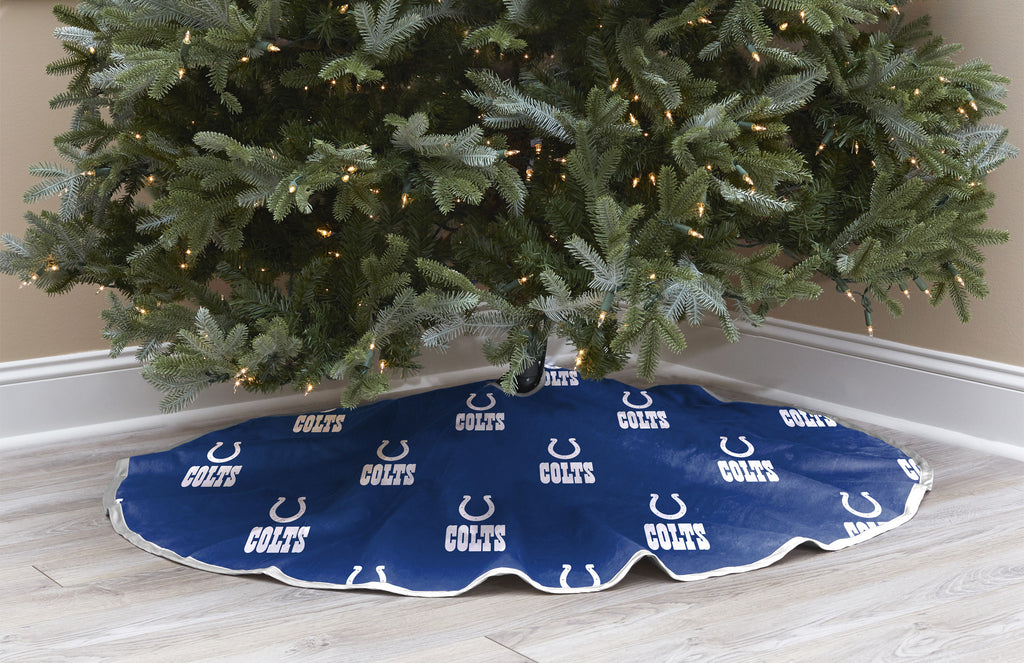 Indianapolis Colts Christmas Tree Skirt