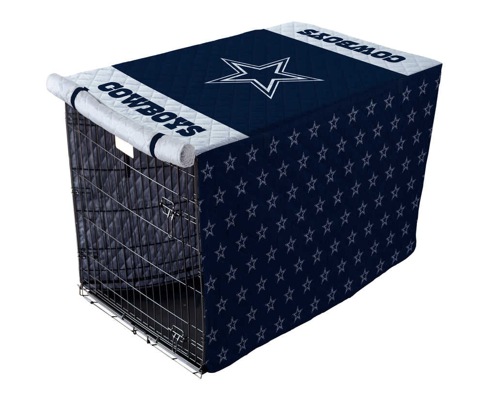 Dallas Cowboys Pet Crate Cover