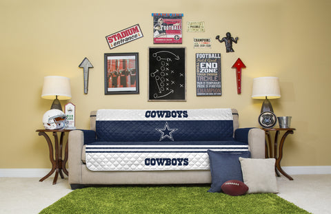 Dallas Cowboys Furniture Protectors with Elastic Straps