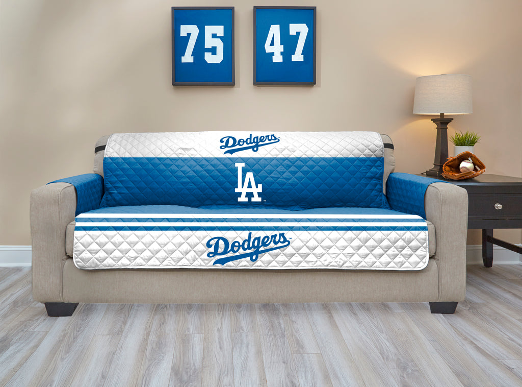 Los Angeles Dodgers Furniture Protectors with Elastic Straps