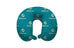 Miami Dolphins Travel Pillow