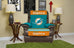 Miami Dolphins Furniture Protectors with Elastic Straps