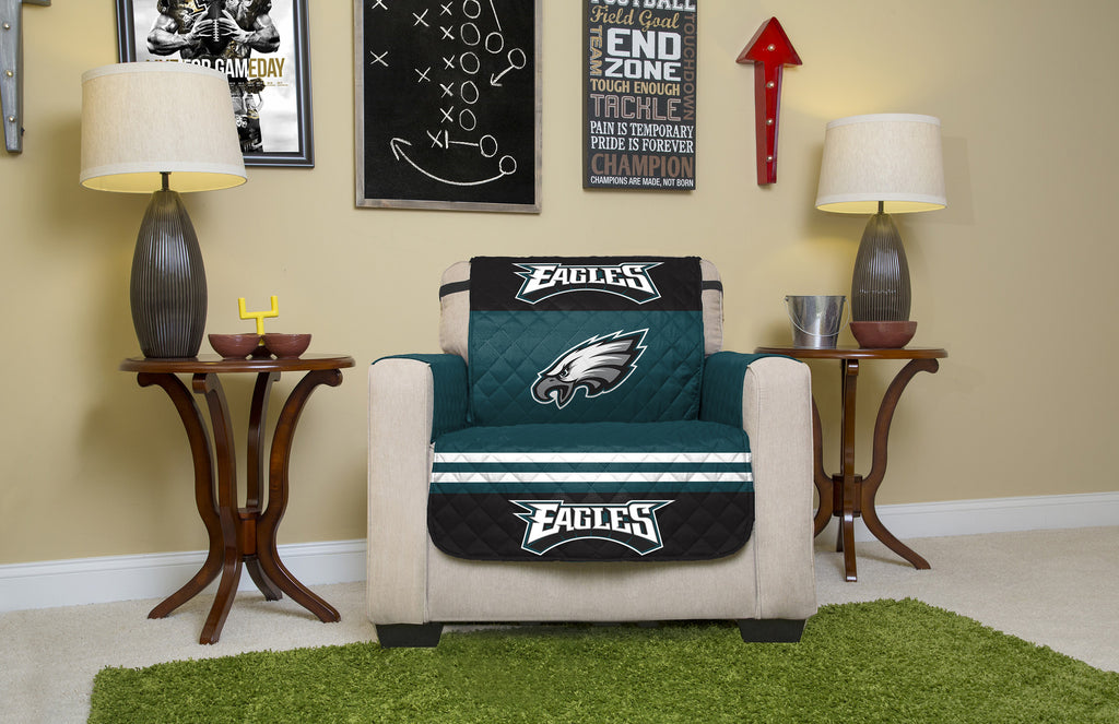 Philadelphia Eagles Furniture Protectors with Elastic Straps