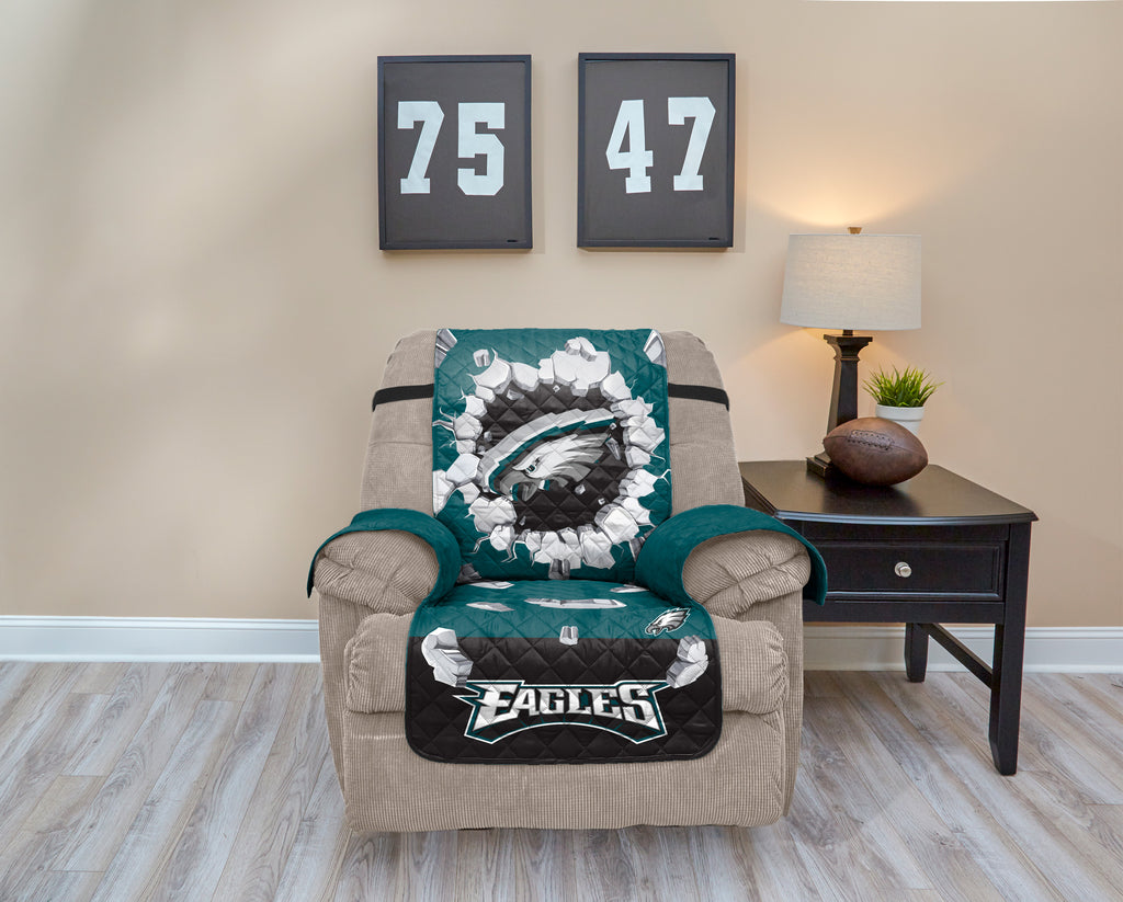 Philadelphia Eagles Explosion Furniture Protector with Elastic Straps