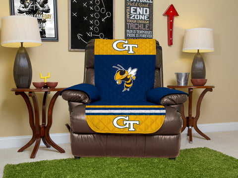 Georgia Tech University Furniture Protectors with Elastic Straps