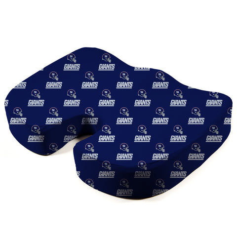 New York Giants Seat Solution Memory Foam Cushion