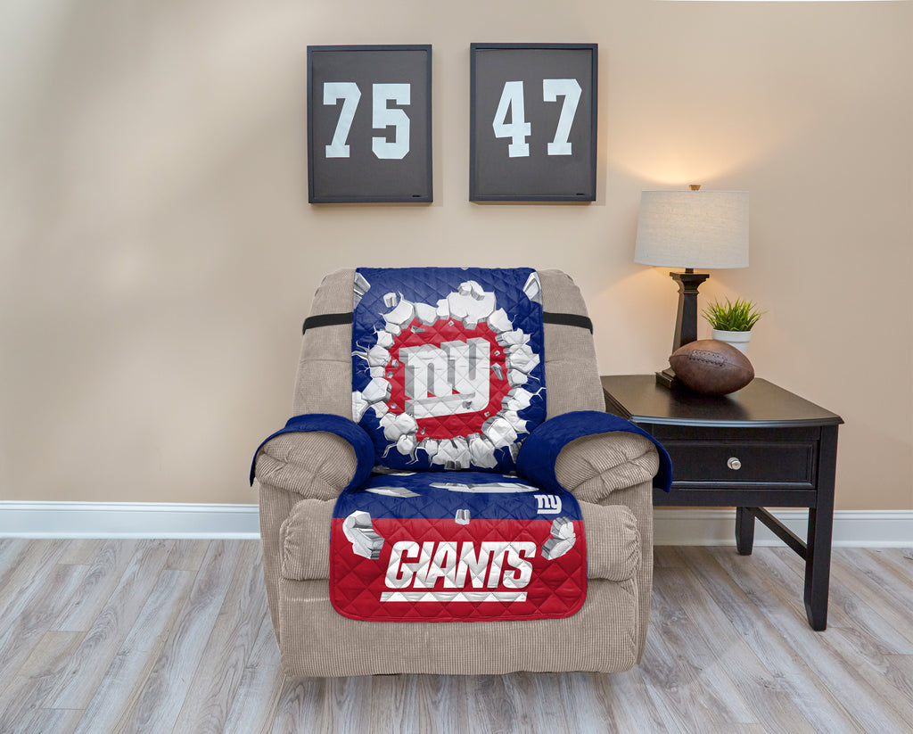 New York Giants Explosion Furniture Protector with Elastic Straps