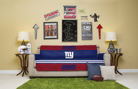 New York Giants Furniture Protectors with Elastic Straps