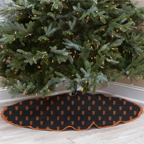 San Francisco Giants Christmas Tree Skirt