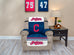 Cleveland Indians Furniture Protector with Elastic Straps