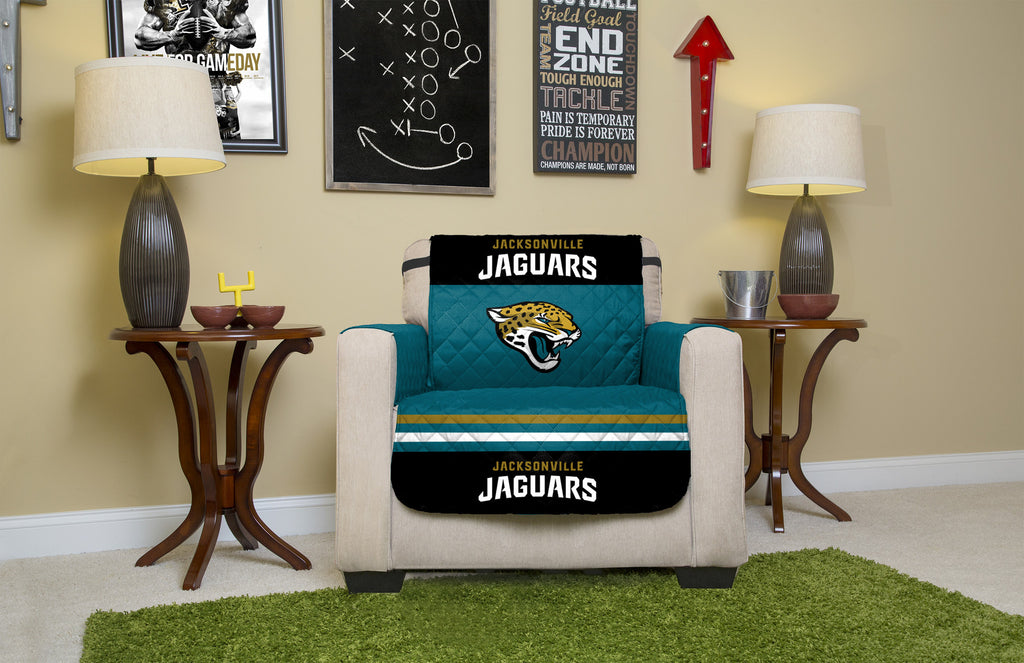 Jacksonville Jaguars Furniture Protectors with Elastic Straps