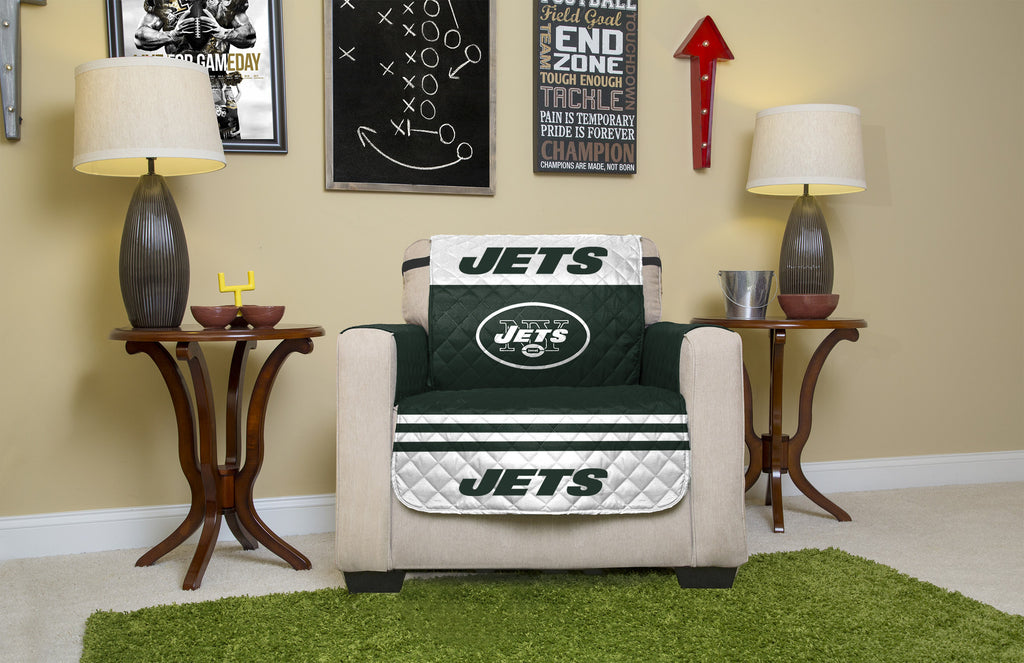 New York Jets Furniture Protectors with Elastic Straps