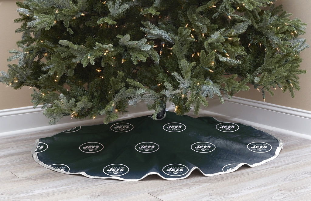 New York Jets Christmas Tree Skirt