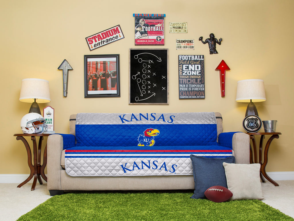 University of Kansas Furniture Proctectors with Elastic Straps