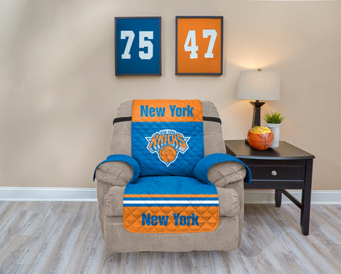 New York Knicks Furniture Protector with Elastic Straps
