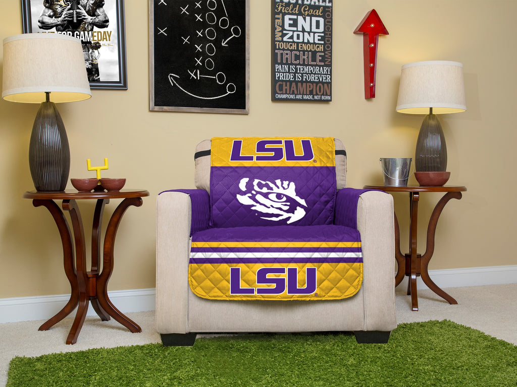 LSU Furniture Protectors with Elastic Staps