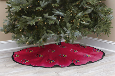 University of Louisville Christmas Tree Skirt