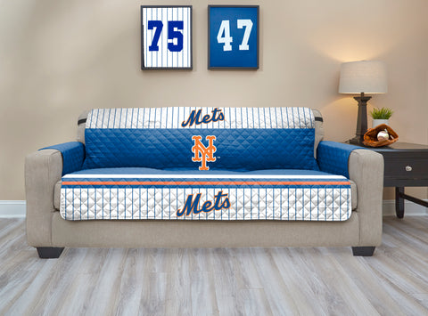 New York Mets Furniture Protector with Elastic Straps