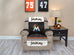 Miami Marlins Furniture Protector with Elastic Straps