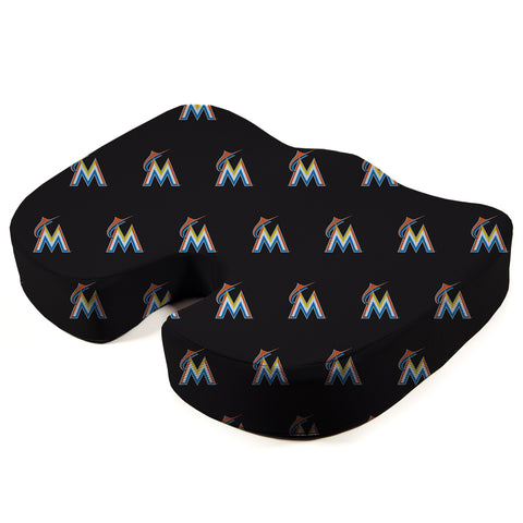 Miami Marlins Seat Solution Memory Foam Cushion
