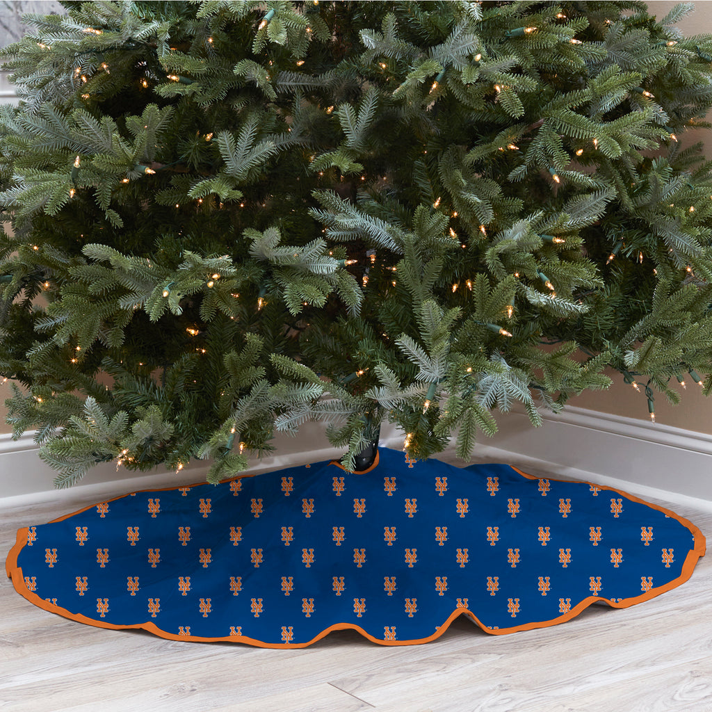 New York Mets Christmas Tree Skirt