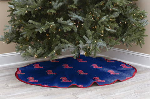 University of Mississippi Christmas Tree Skirt