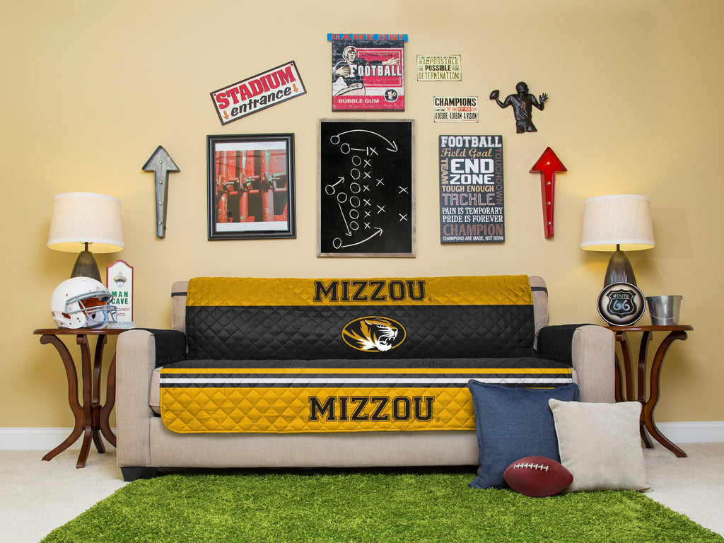 University of Missouri Furniture Protectors with Elastic Straps